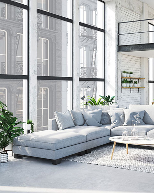 Moderner Fensterbau